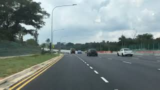 Lornie Highway from THOMSON road to ADAM road in Singapore. Video taken on 28 Oct 2018