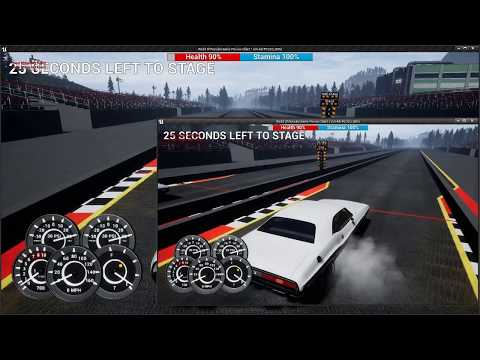 Open World Multiplayer Drag Race Testing