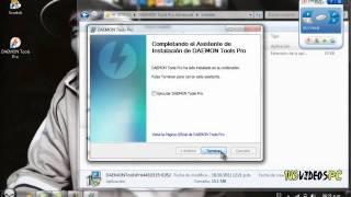 Descargar e Instalar Daemon Tools Pro