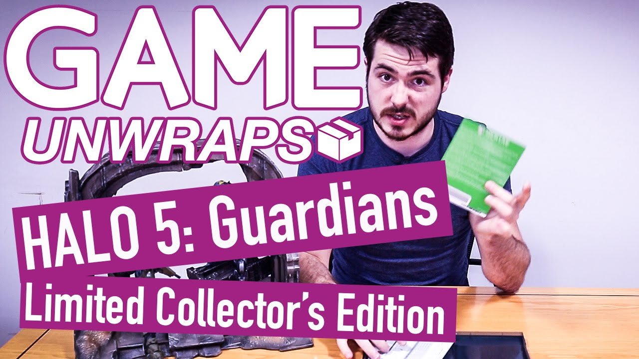 Game unwraps halo 5 limited collector s edition only at game