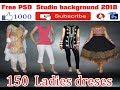 Free  PSD Files 150  ladies  dress  download