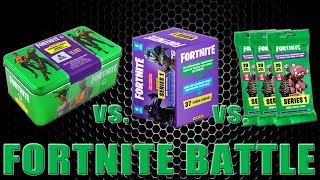 Panini FORTNITE TRADING CARDS SERIE 1 | BLASTER BOX vs. MEGA TIN vs. BOOSTER PACKS | Unboxing