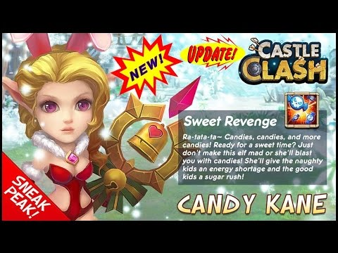 Castle Clash: Rolling For Candy Kane!