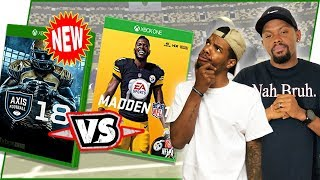 New Football Video Game! Should You Play This Game INSTEAD Of Madden? - Axis Football 2018 Gameplay