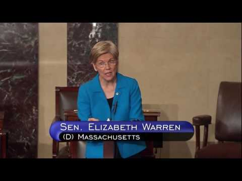 Senator Elizabeth Warren floor speech on the Presidential Tax Transparency Act