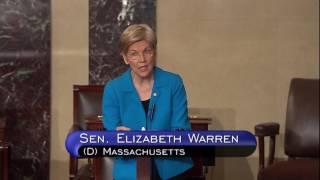 Senator Elizabeth Warren floor speech on the Presidential Tax Transparency Act