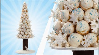 Cream Puff Christmas Cake - YOU'VE BEEN DESSERTED