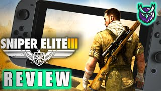 Sniper Elite 3 Ultimate Edition Switch Review - SNIPER ON THE GO (Video Game Video Review)