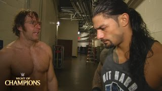 Roman Reigns & Dean Ambrose comment on their crushing loss: WWE.com Exclusive, Sept. 20, 2015