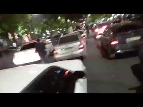 АРМЕНИЯ -  ВОССТАНИЕ АВТО. Водители Еревана блокируют магистрали своего города. Романов Newsader