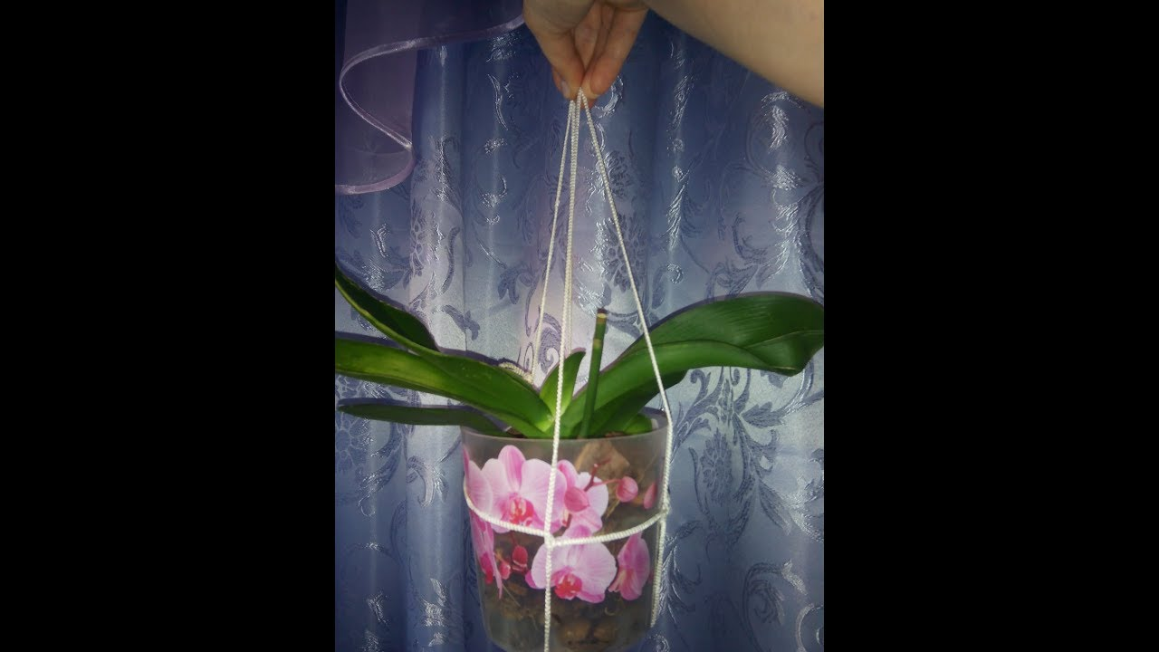 Кашпо для цветов своими руками нитками фото фото 167