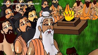 Illustrated Story - Great Personality - Vedavyasa...The Literary Incarnation Of God