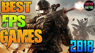Top 15 Best FPS Android Games 2018 January 🎮🎮