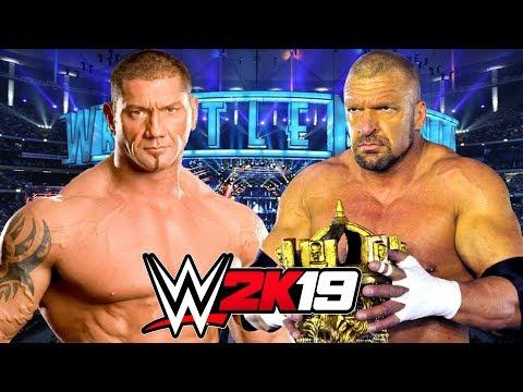 WWE 2K19   TRIPLE H vs BATISTA Mp3