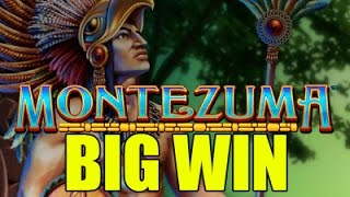 Online slots - Montezuma (WMS) BIG WIN - Huge Win - Bet size: 1.5€