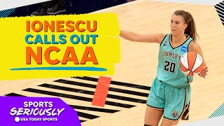 Sabrina Ionescu On NCAA Fairness, NIL, And Importance Of Women Shoe Deals | Sports Seriously