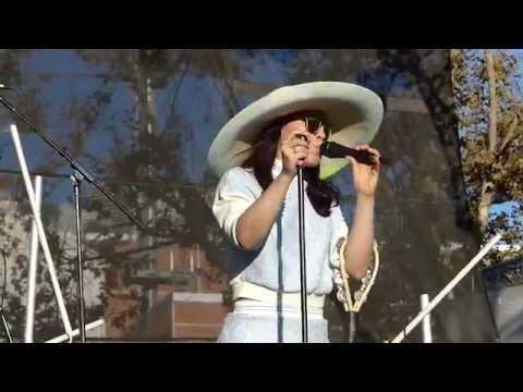 Little Dragon - Summertearz LIVE HD (2014) FYF Fest Los Angeles