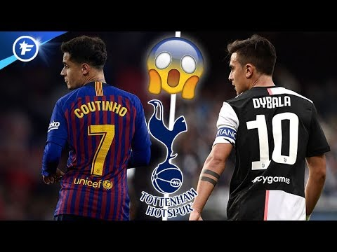 Tottenham tout proche de signer Paulo Dybala et Philippe Coutinho | Revue de presse