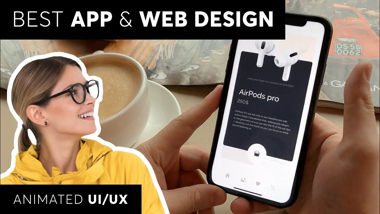 Best App Web Design Inspiration Explained Youtube