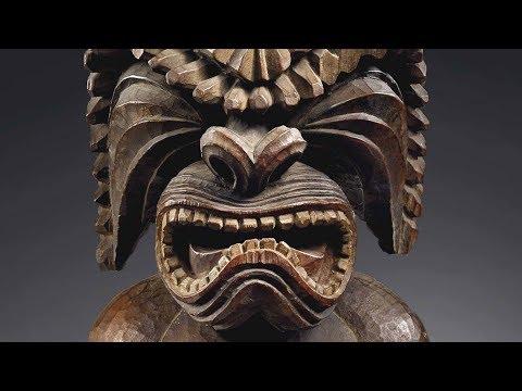 The War God Known as 'The Island Eater' | A Hawaiian Kona Figure of Ku-ka'ili-moku
