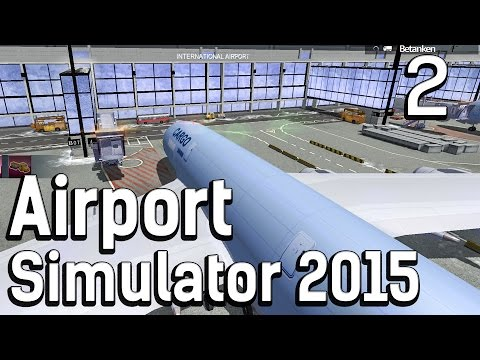 Airport Simulator 2015 2 SCHNEESCHIEBER Flughafen Management Simulation deutsch HD