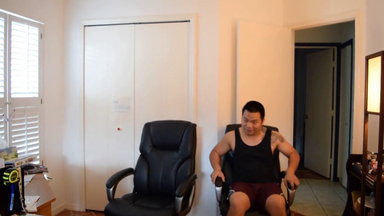 AmazonBasics High-Back Executive Chair defective noise