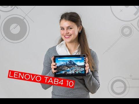 Планшет Lenovo Tab 4 TB-X304l LTE 16GB (Qualcomm Msm8917 1400МГц / 2048мб / 16ГБ...)
