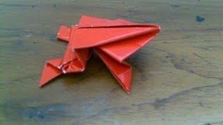 Cara Membuat Origami | Origami Binatang Katak