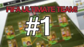 FIFA 13 - Ultimate team Livestream #1