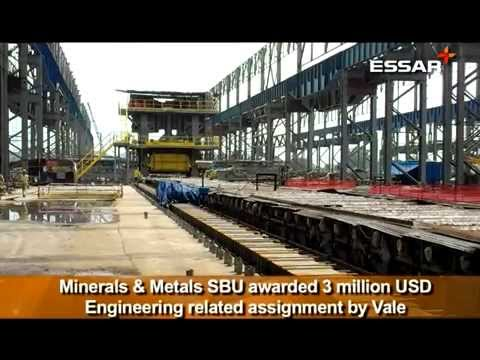 Minerals & Metals SBU awarded 3 million USD Engineering related assignment by Vale