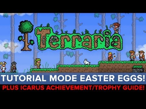 Terraria - Tutorial Mode Secrets + Icarus Achievement Guide - Eurogamer