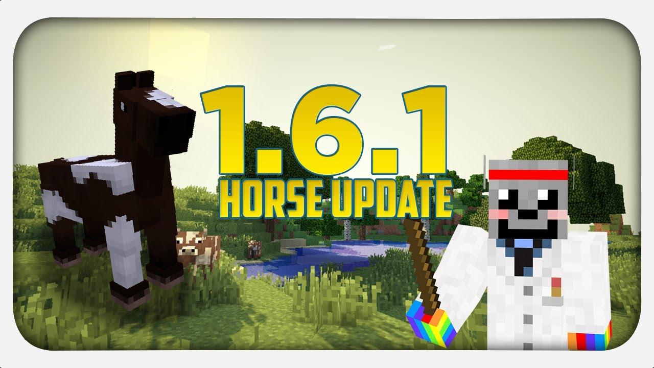 MINECRAFT 1.6.1 HORSE UPDATE! - Was ist neu? - YouTube