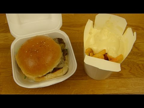 Hasir Burger - Cheeseburger | Fries & Mayo | Coke Zero