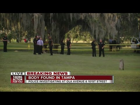 Body found in a ditch in Tampa