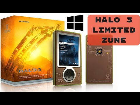Zune Halo 3 Limited Edition Unboxing