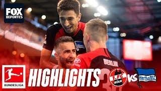 Koln 0-4 Hertha Berlin | HIGHLIGHTS | Jornada 6 | Bundesliga