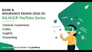 YouTube GAMER Series for Banking & Insurance Exam | Gradeup