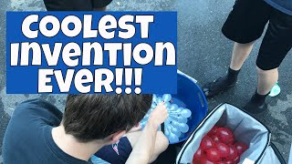 Coolest Invention Ever - Making Filling Up Water Balloons Easy