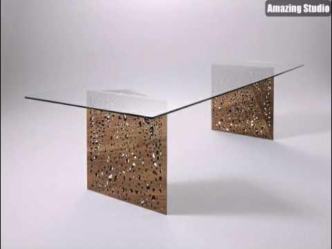 Außergewöhnliche Möbel Vom Horm Modernes Tisch Modell - YouTube