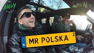 Mr. Polska deel 2 - Bij Andy in de auto