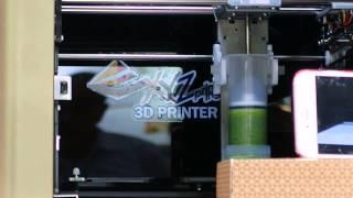 3Dフードプリンタ「XYZ Food Printer」の試作機