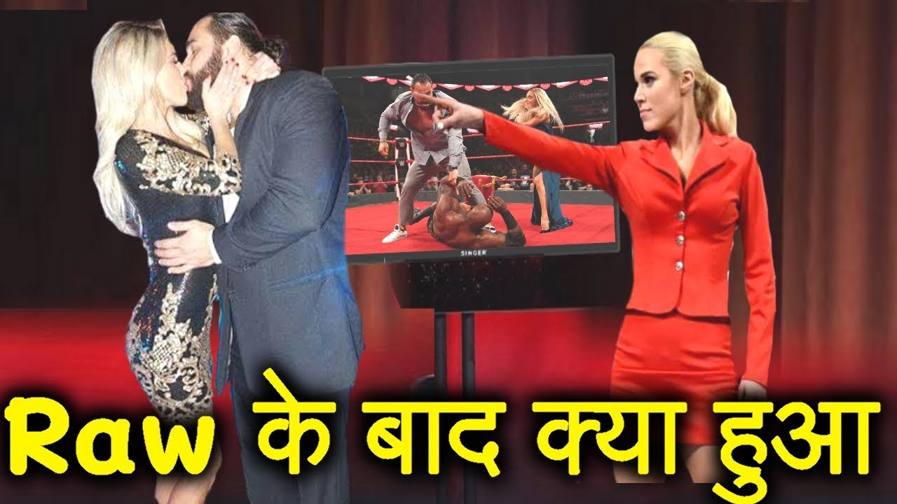 पकड़े गए Rusev Lana - WWE Who is Mystery Woman Rusev is Dating | Bold Statement on Charlotte Flair