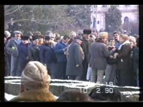 GYERTYÁS KÖRMENET A MAGYAR OKTATÁSÉRT-1990 FEBRUÁR 10