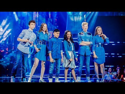 Tim, Noralie, Robin, Oona, Katarina & Abu - 'Year 3000' | Finale | The Voice Kids | VTM
