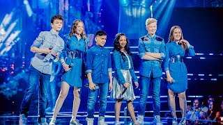 Tim Noralie Robin Oona Katarina  Abu - Year 3000  Finale  The Voice Kids  VTM