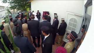 Neuwied, Germany: Visit to Townhall and Bait-ul-Raheem Mosque Inauguration by Khalifa of Islam