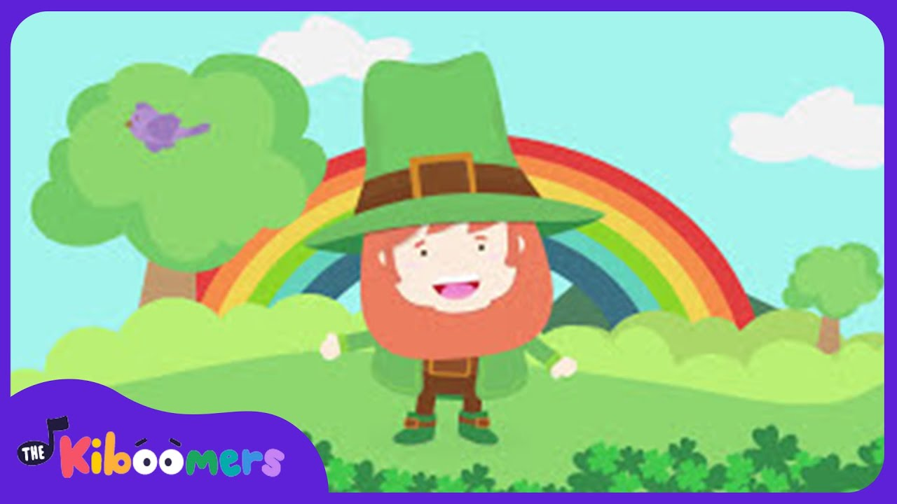 i m a little leprechaun song for kids st patrick s day song the