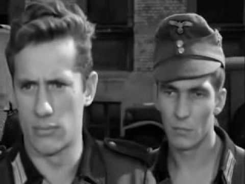 End of war in West Germany - comedy