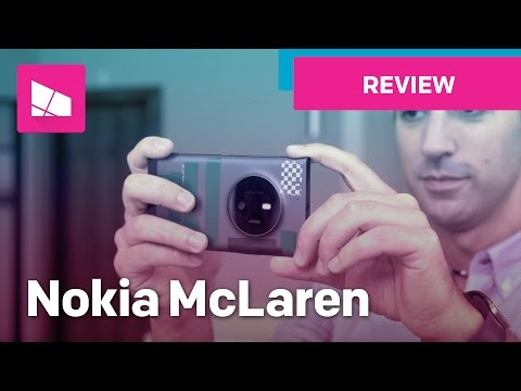 Nokia McLaren — A phone with REAL 3D Touch