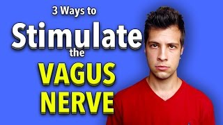 Vagus Nerve Stimulation - 3 Easy Ways to Stimulate the Vagus Nerve